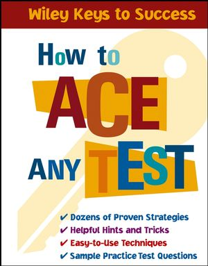 How to Ace Any Test (0471667277) cover image