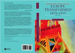 Europe Transformed: 1878-1919, 2nd Edition