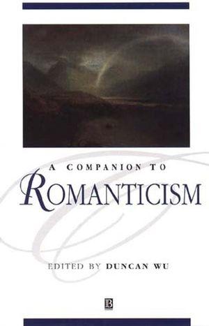 A Companion to Romanticism (0631218777) cover image