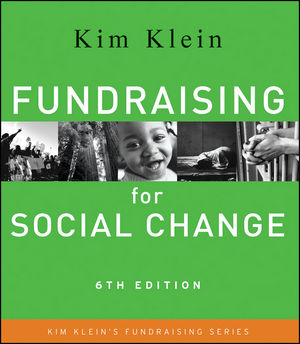 Fundraising for Social Change, 6th Edition (1118019377) cover image