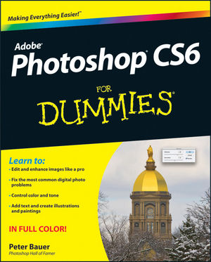 Book Cover Image for Photoshop CS6 For Dummies