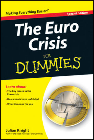 The Euro Crisis For Dummies, Special Edition (1118346777) cover image