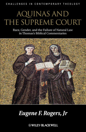 Aquinas and the Supreme Court: Biblical Narratives of Jews, Gentiles and Gender (1118397177) cover image
