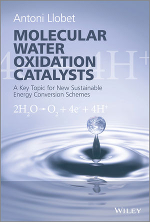 Molecular Water Oxidation Catalysis: A Key Topic for New Sustainable Energy Conversion Schemes (1118413377) cover image