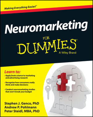 Neuromarketing For Dummies (1118518977) cover image