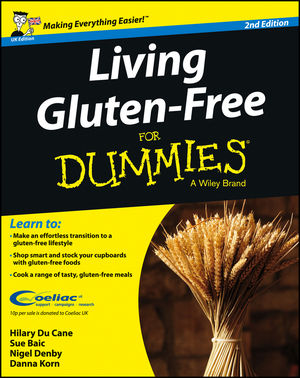 Living Gluten-Free For Dummies - UK, 2nd UK Edition (1118530977) cover image