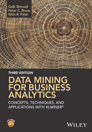 Data Mining for Business Analytics: Concepts, Techniques, and Applications with XLMiner, 3rd Edition (1118729277) cover image