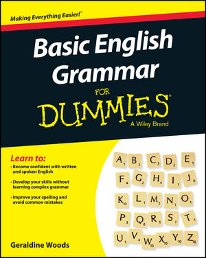 Wiley: Basic English Grammar For Dummies - US, US Edition - Geraldine Woods