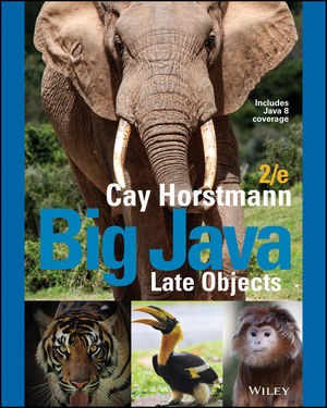 Big Java Late Objects, Enhanced eText, 2nd Edition