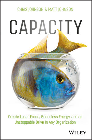 Capacity: Create Laser Focus, Boundless Energy, and an Unstoppable Drive In Any Organization (1119386977) cover image