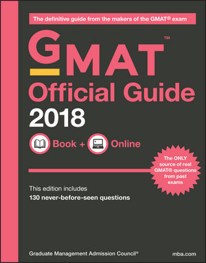 GMAT Official Guide 2018: Book + Online (1119387477) cover image