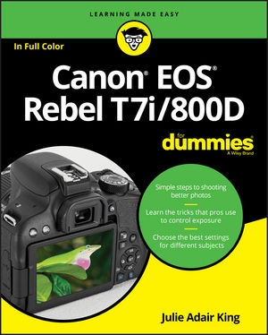 Canon EOS Rebel T7i/800D For Dummies (1119399777) cover image