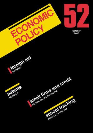Economic Policy 52