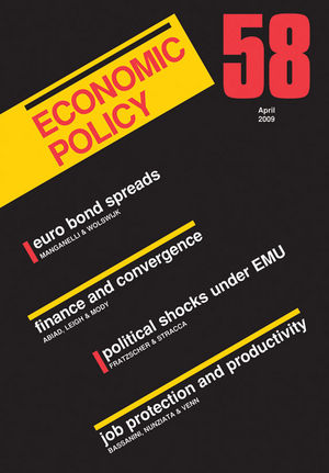 Economic Policy 58 (1405189177) cover image