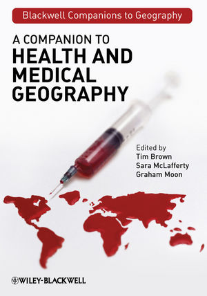 A Companion to Health and Medical Geography (1444314777) cover image