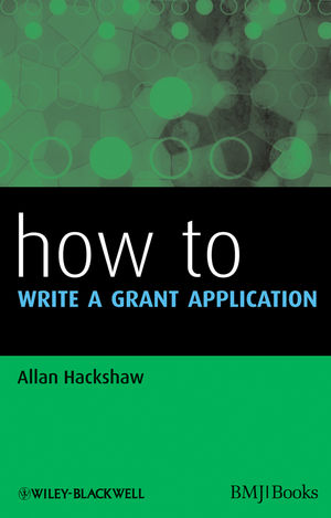 How to Write a Grant Application (1444329677) cover image