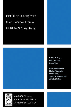 Flexibility in Early Verb Use: Evidence from a Multiple-n Diary Study (1444333577) cover image