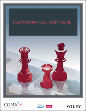 CGMA Exam - Case Study Guide (1941651577) cover image