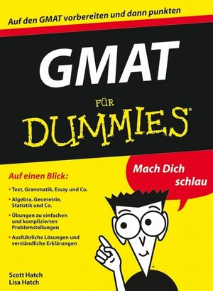 GMAT für Dummies (3527642277) cover image