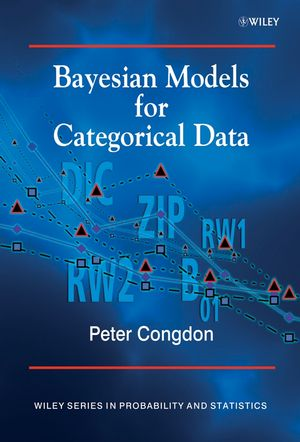 Bayesian Models for Categorical Data (0470092378) cover image