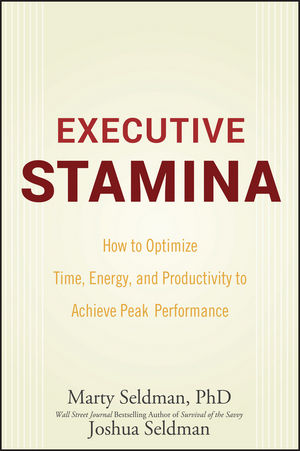 Executive Stamina: How to Optimize Time, Energy, and Productivity to Achieve Peak Performance (0470335378) cover image
