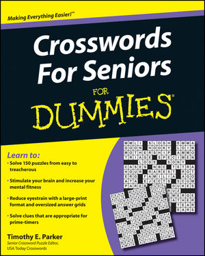 Crosswords for Seniors For Dummies (0470555378) cover image