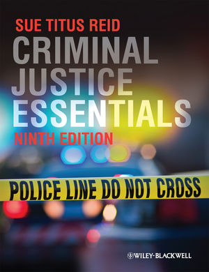 Criminal Justice Essentials, 9th Edition (0470658878) cover image