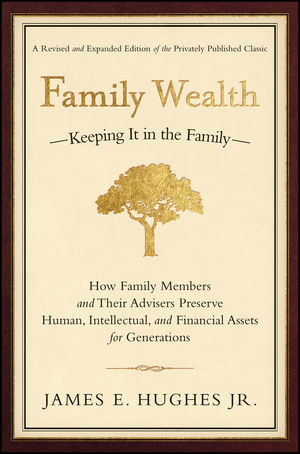 Family Wealth: Keeping It in the Family--How Family Members and Their Advisers Preserve Human, Intellectual, and Financial Assets for Generations, 2nd, Revised and Expanded Edition (0470884878) cover image