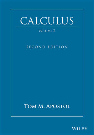 Calculus, Volume 2, 2nd Edition (0471000078) cover image