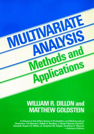 Multivariate Analysis: Methods and Applications