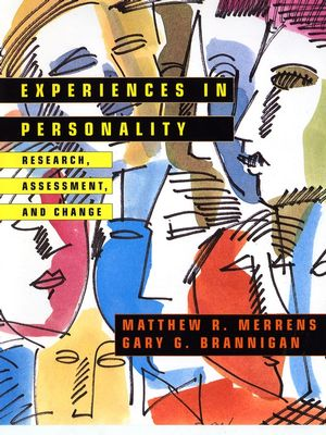 Experiences in Personality: Research, Assessment, and Change (0471139378) cover image