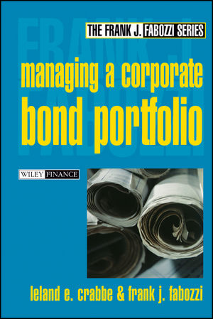Managing a Corporate Bond Portfolio (0471218278) cover image