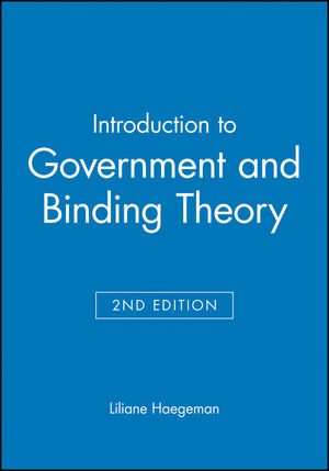 Introduction to Government and Binding Theory, 2nd Edition