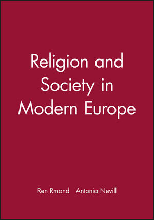 Religion and Society in Modern Europe (0631208178) cover image