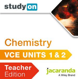 StudyOn VCE Chemistry Units 1 & 2 Teacher Edition (Online Purchase)