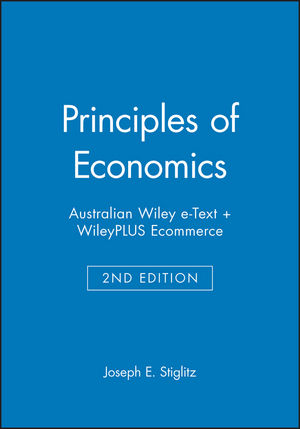 Principles of Economics 2e Australian Wiley e-Text + WileyPLUS Ecommerce (0730332578) cover image