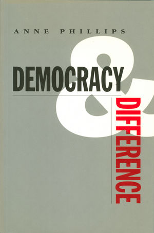 Democracy and Difference (0745610978) cover image