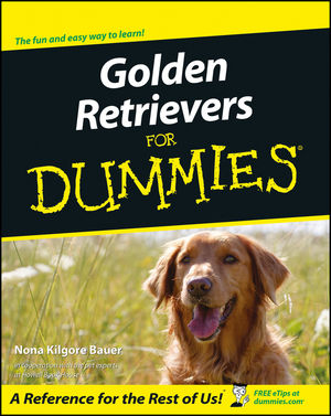 Golden Retrievers For Dummies (0764552678) cover image