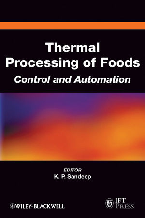 Thermal Processing of Foods: Control and Automation (0813810078) cover image