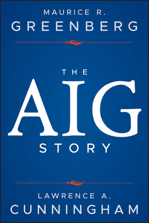 The AIG Story, + Website (1118345878) cover image
