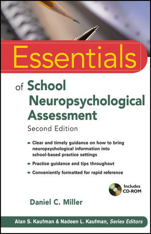 Essentials of School Neuropsychological Assessment, 2nd Edition (1118421078) cover image