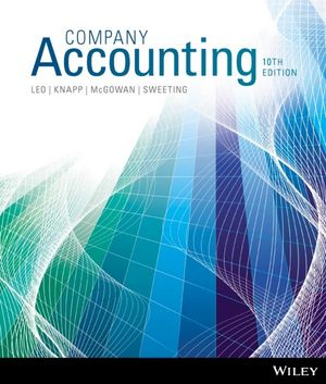 Company Accounting, 10th Edition