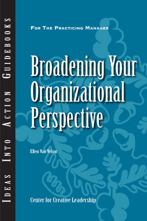 Broadening Your Organizational Perspective (1118780078) cover image