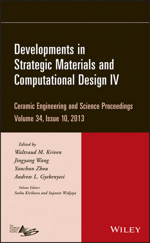 Developments in Strategic Materials and Computational Design IV, Volume 34, Issue 10