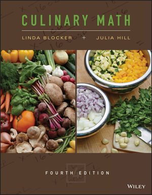 Culinary Math, 4th Edition (1119195578) cover image
