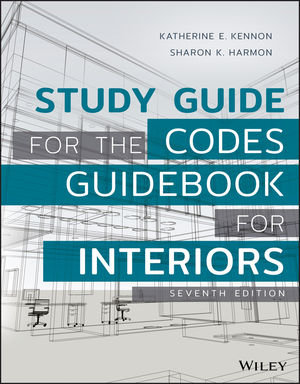 Study Guide for The Codes Guidebook for Interiors, 7th Edition