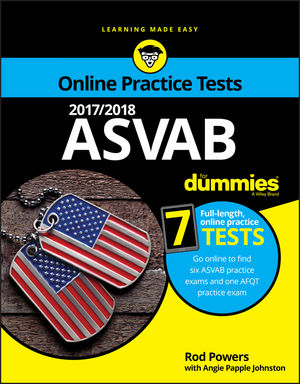 2017/2018 ASVAB For Dummies with Online Practice (1119365678) cover image