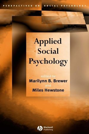 Applied Social Psychology (1405110678) cover image