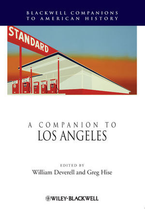 A Companion to Los Angeles (1405171278) cover image