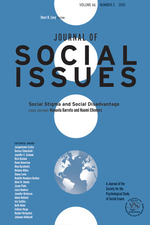 Social Stigma and Social Disadvantage (1444339478) cover image